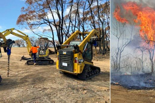 Auger Torque dealers band together in bushfire rebuild effort