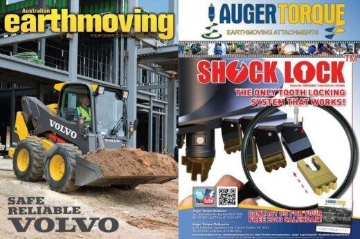 Auger Torque featured in the March/April edition of Australian Earthmoving magazine