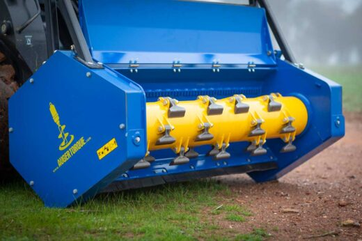 Network Rail grants full approval for Auger Torque Mulcher Range